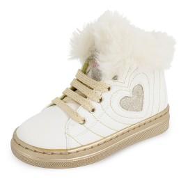 Trzewiki dziewczęce na zimę Agata Ruiz De La Prada 201942 białe