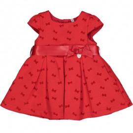 Sukienka elegancka dziewczęca Birba 95303-95Z Czerwony
