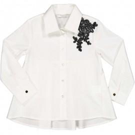 Koszula elegancka dziewczęca Trybeyond 90487-10E Biały