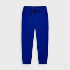 Długie spodnie dresowe chłopięce Mayoral 725-82 Niebieski