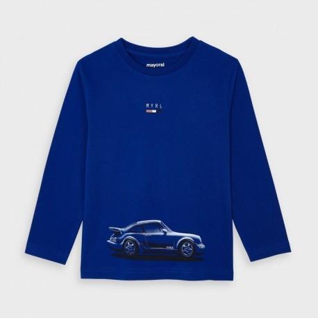 Koszulka z długim rękawem chłopięca Mayoral 4046-57 Niebieski