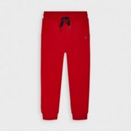 Długie spodnie dresowe chłopięce Mayoral 725-84 Czerwony