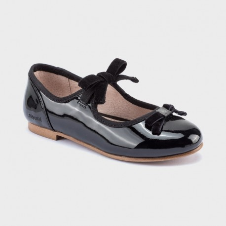 Balerinki eleganckie dziewczęce Mayoral 46111-77 Czarny