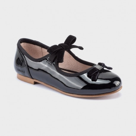 Balerinki eleganckie dziewczęce Mayoral 44111-77 Czarny