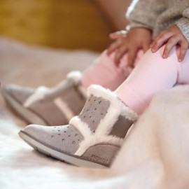 Trzewiki zimowe dla dziewczynki Mayoral 42132-40 Szary