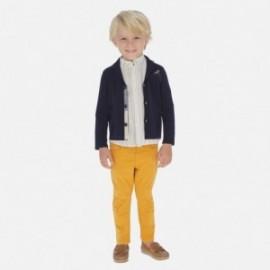 Spodnie gładkie dla chłopców Mayoral 509-10 pomarańczowe