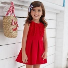 Sukienka elegancka dziewczęca Mayoral 3942-70 Czerwony