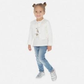 Spodnie jeansowe dziewczęce Mayoral 75-24 Niebieski