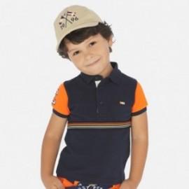 Koszulka polo dla chłopców Mayoral 3153-68 Granatowy