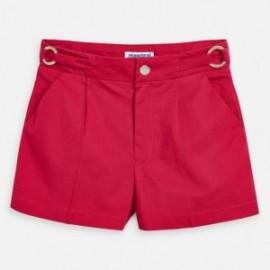 Krótkie spodenki dla dziewczynki Mayoral 3273-49 Czerwony