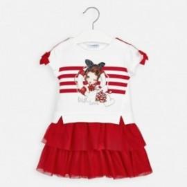 Sukienka dla dziewczynki Mayoral 3958-45 Czerwony