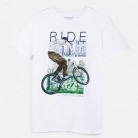 Koszulka sportowa chłopięca Mayoral 6058-33 Biały