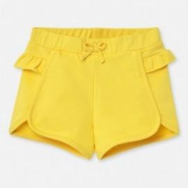 Krótkie spodenki dziewczęce Mayoral 1204-78 Żółty