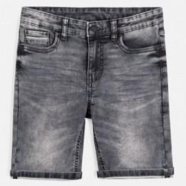 Bermudy jeansowe chłopięce Mayoral 6235-36 Szary