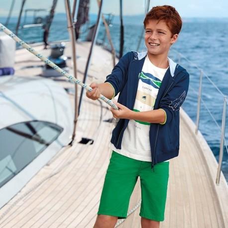 Bermudy chłopięce Mayoral 231-46 Zielony