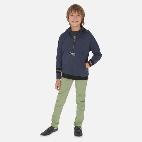 Spodnie slim fit chłopięce Mayoral 520-10 Zieleń