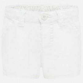 Spodnie krótkie chłopięce Mayoral 201-56 Biały