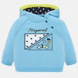 Bluza z kapturem dla chłopców Mayoral 1452-15 Niebieski