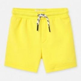Bermudy dla chłopca Mayoral 621-64 Zółty
