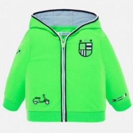 Bluza z kapturem chłopięca Mayoral 1458-47 Zielony