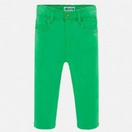 Spodnie slim fit chłopięce Mayoral 506-29 Zielony