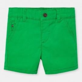 Bermudy chino chłopięce Mayoral 207-22 Zielony