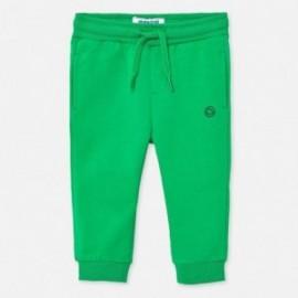 Spodnie dresowe chłopięce Mayoral 711-94 Zielony