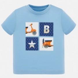 Koszulka z krótkim rękawem chłopięca Mayoral 1052-33 Niebieski