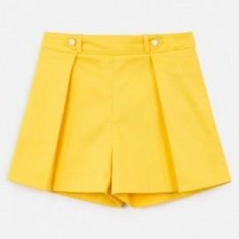 Krótkie spodenki dla dziewczyny Mayoral 6250-88 Żółty