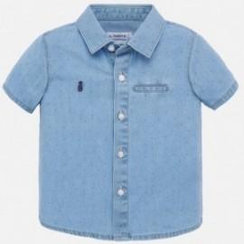 Koszula jeansowa dla chłopca Mayoral 1156-5 Niebieski
