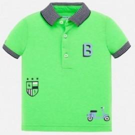 Koszulka polo bawełniana dla chłopców Mayoral 1147-30 Zielony