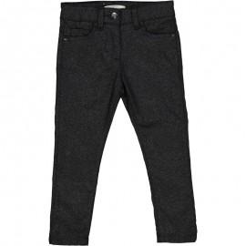 Spodnie z brokatem dziewczęce Trybeyond 92494-97Z Czarny