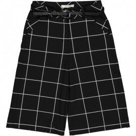 Spodnie kuloty dziewczęce Trybeyond 92483-90Z Czarny