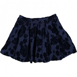 Spódnica w kwiaty dziewczęca Trybeyond 95297-97Z Granatowy