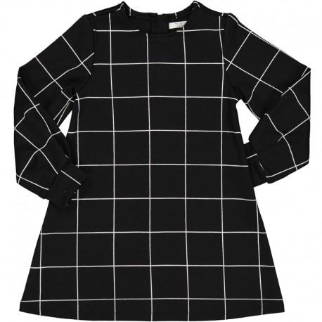 Sukienka w kratę dziewczęca Trybeyond 95588-90Z Czarny