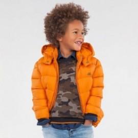 Kurtka zimowa dla chłopców Mayoral 412-71 Pomarańczowy