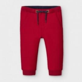 Spodnie joggery chłopięce Mayoral 2579-78 Czerwony