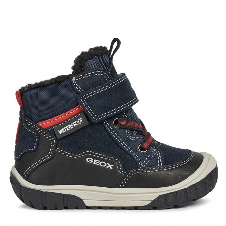 Sneakersy chłopięce zimowe Geox B042DA-02285-C0045 granat