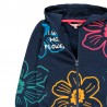 Bluza z kapturem dla dziewczynki Boboli 431143-2440 kolor granat