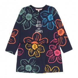Sukienka dla dziewczynki Boboli 431053-2440 kolor granat