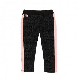 Spodnie dzianinowe dla dziewczynki Baby Boboli 241085-8116 kolor antracyt