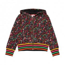 Bluza z kapturem dla dziewczynki Boboli 411141-9389 kolor kolorowy