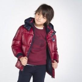 Kurtka zimowa dla chłopaka Mayoral 7467-93 Bordowy