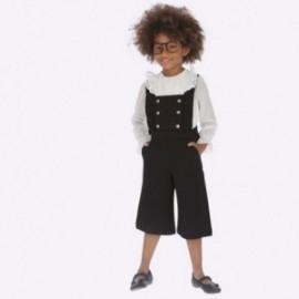 Ogrodniczki eleganckie dziewczęce Mayoral 4602-57 kolor czarny