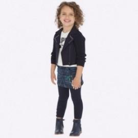 Spódniczka jeansowa dziewczęca Mayoral 4911-67 kolor granatowa