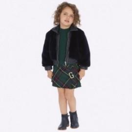 Spódnica na szelkach dziewczęca Mayoral 4914-40 kolor zielony