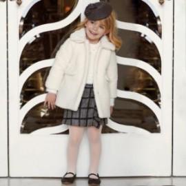 Spódnica w kratę dziewczęca Mayoral 4203-55 kolor czarny