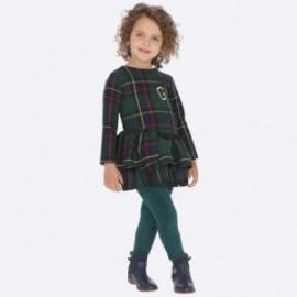 Leginsy dzianinowe dziewczęce Mayoral 4703-24 kolor zielony