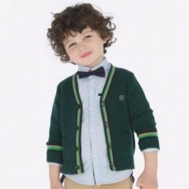 Sweter rozpinany chłopięcy Mayoral 4324-88 kolor zielony
