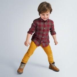 Spodnie sztruksowe chłopięce Mayoral 537-19 kolor żółty